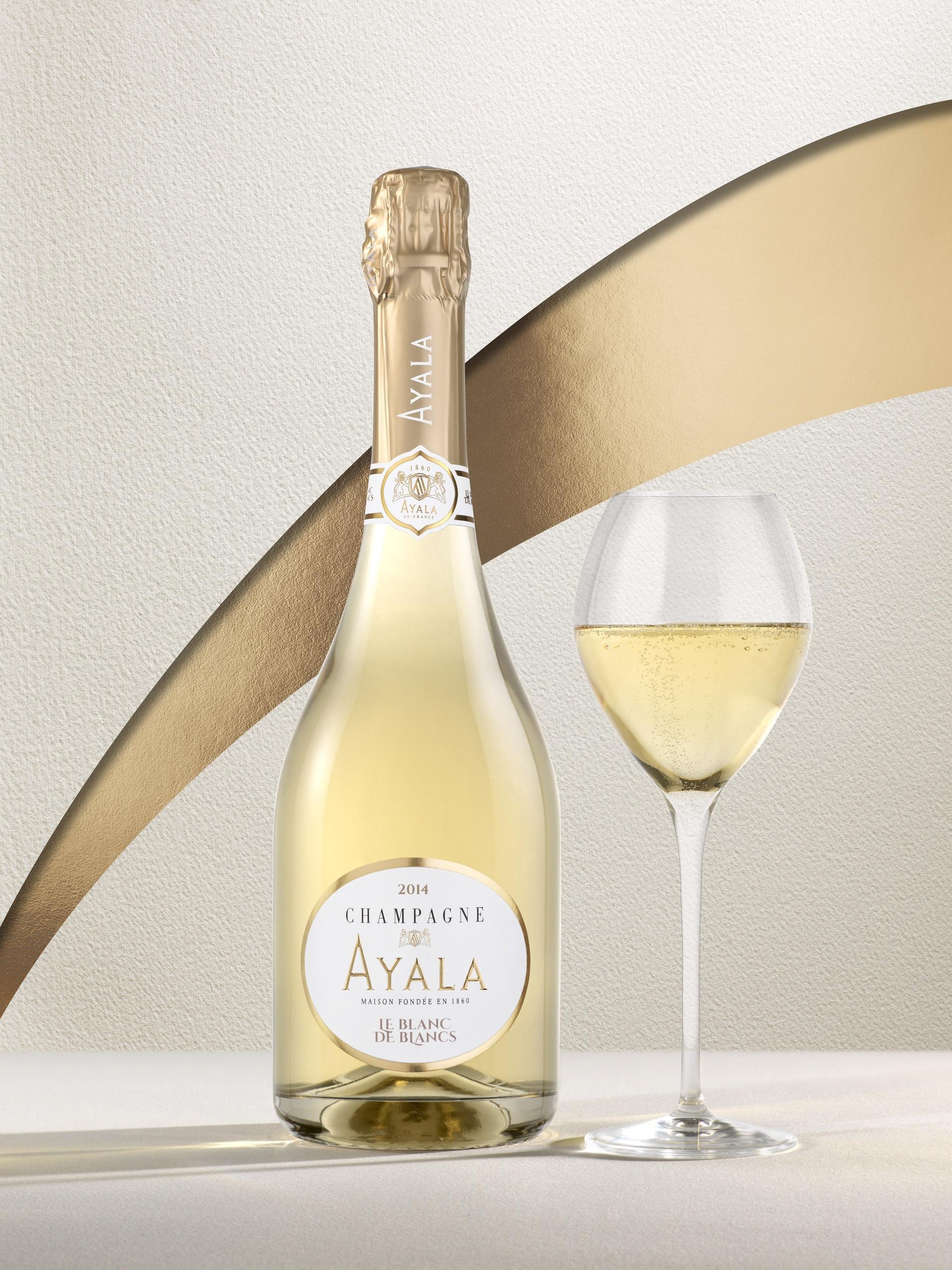 Le Blanc de Blancs 2014, new vintage - Champagne Ayala