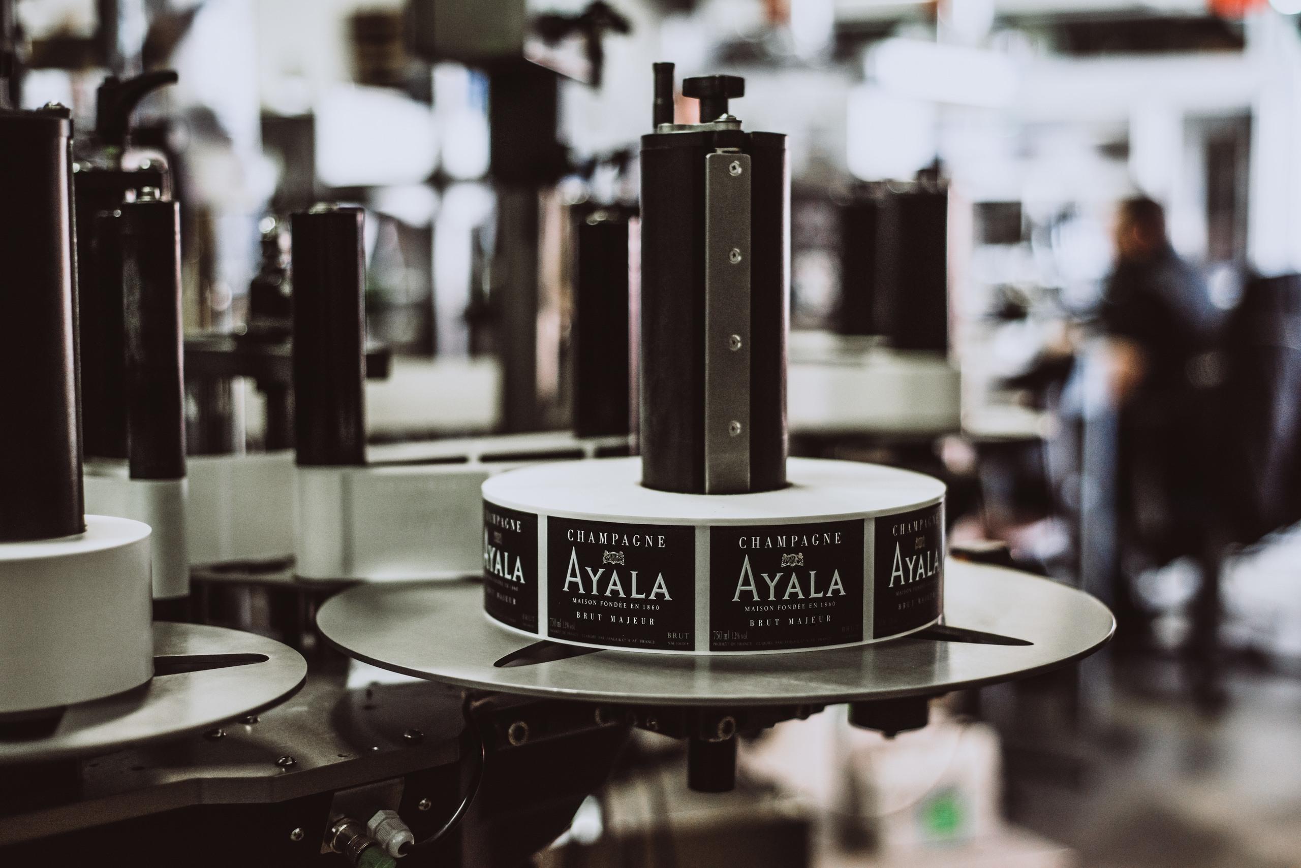 Menciones legales - Champagne Ayala